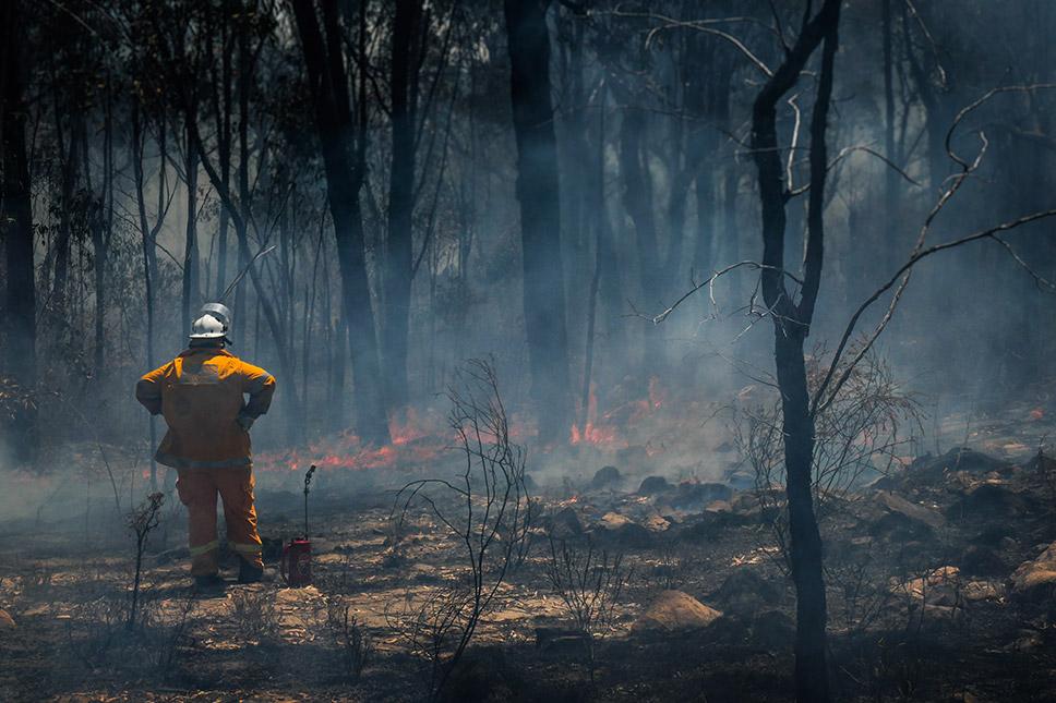 Adelaide Hills Fires